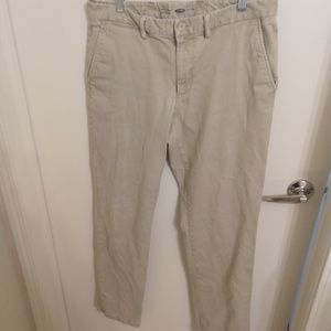 34x34 Old Navy Ultimate Straight chinos khaki